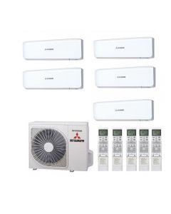 Mitsubishi Heavy Industries Air Conditioning SCM100ZM-S Multi Inverter Heat Pump 5 x SRK35ZS-S A+ 240V~50Hz