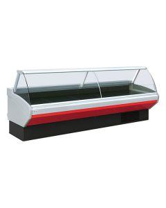 Mafirol Amalia Corner Curved Glass Serve Over Corner Counters - Amalia FV-VCE