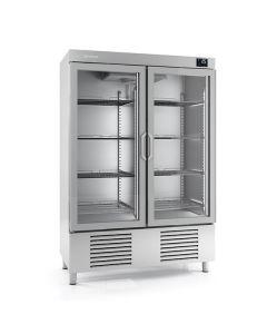 Infrico AN1002BT-CR Double Glass Door Freezer 1110l