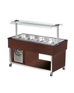 Blizzard BB4-COLD-WE 4 X Gn1/1 Cold Buffet Display