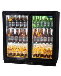 Unifrost BC20SBE Sliding double door back bar cooler