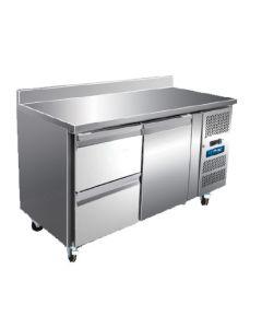 Unifrost CR1365N 2 Door professional counter refrigerator
