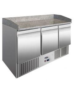 Atosa ESL3852GR Pizza prep fridge - 3 door