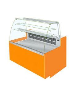 Jordao ET-VCV Eline Curved Glass Serve Over Display Static Cooled With Understorage