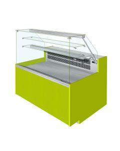 Jordao VT-VDA Eline Flat Glass Serve Over Display Fan Assisted With Understorage