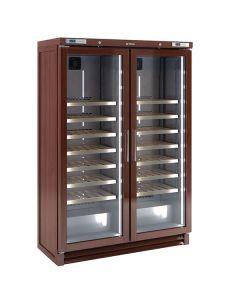 Infrico EVV200MX Upright Double Door Wine Cellar (200 Bottles)