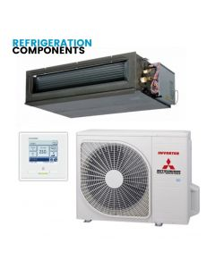 Mitsubishi Heavy Industries Air Conditioning FDU140VSAWVH High Static Ducted Heat Pump Micro Inverter - 3 phase