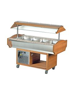 Blizzard GB4-COLD 4 X Gn1/1 Cold Buffet Display