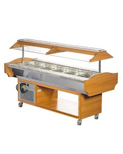 Blizzard GB6-COLD 6 X Gn1/1 Cold Buffet Display