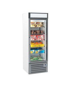 Infrico NEC501FV Single Glass Door Freezer Merchandiser 500l