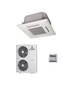 Mitsubishi Heavy Industries Air Conditioning FDT125VF Cassette 12.5Kw/40000Btu Inverter Heat Pump 240V/415V~50Hz