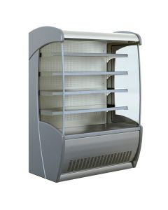 Mafirol Pessoa 850 SS General Purpose And Fresh Meat Tiered Display Stainless Steel 877mm Depth