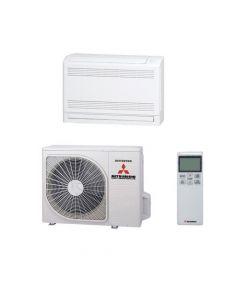 Mitsubishi Heavy Industries Air Conditioning SRF25ZMX-S HYPER Inverter Floor Heat Pump (2.5 kW/9000 Btu) A++ 240V~50Hz