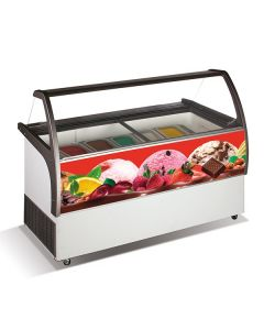 Crystal Venus Elegante 56 Venus Ice Cream Display 557l