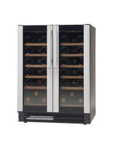 Vestfrost W38 Under Counter Double Door Wine Cabinet (38 Btl)